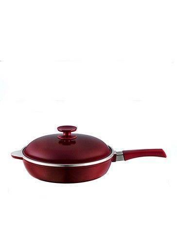 sarten essen 24 cm marsala. Ideal para realizar recetas essen y prepara risottos, carnes, vegetales, cualquier tipo de preparacion. Su material antiadherente permite que no se pegue la comida